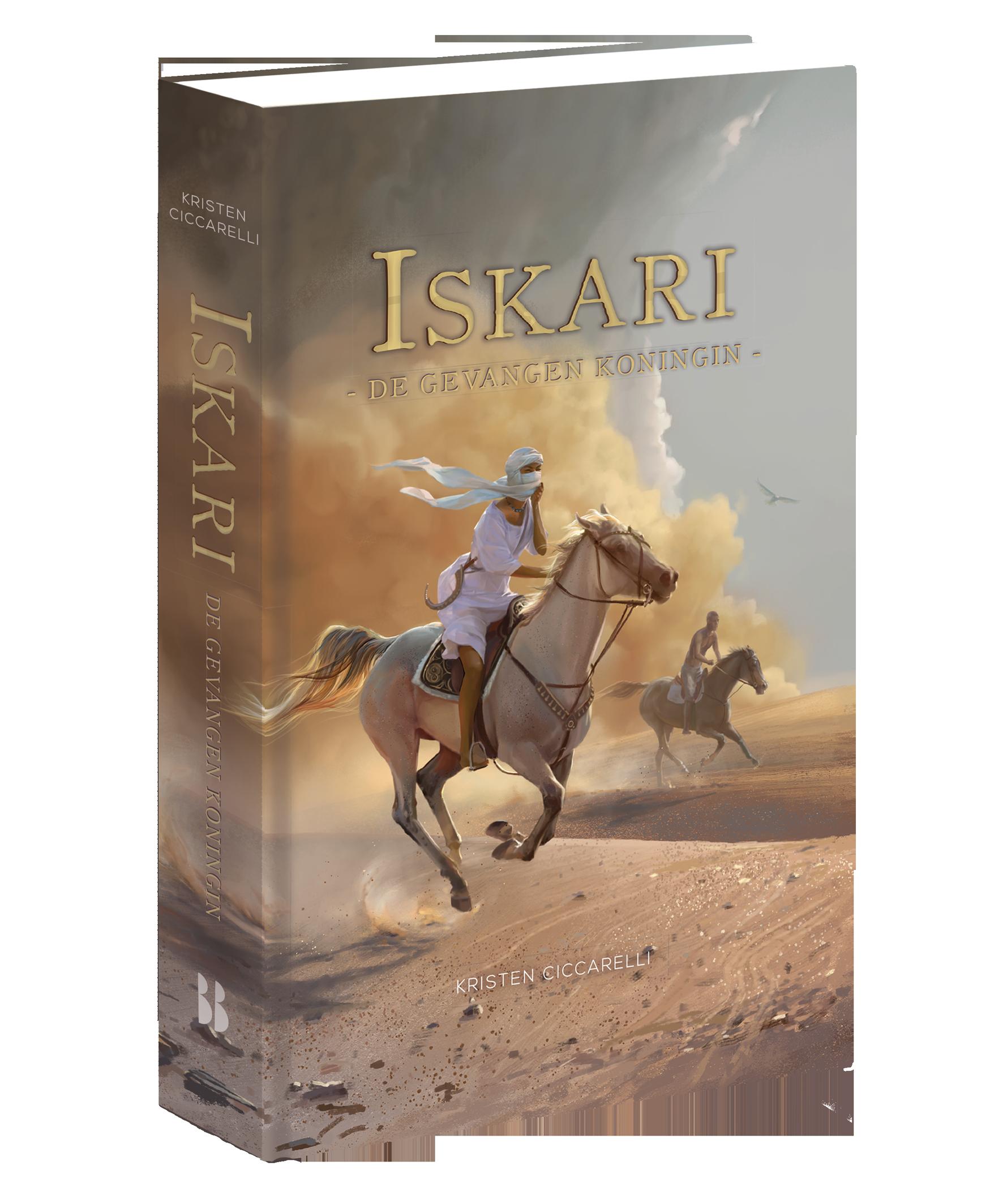Iskari #2. De gevangen koningin