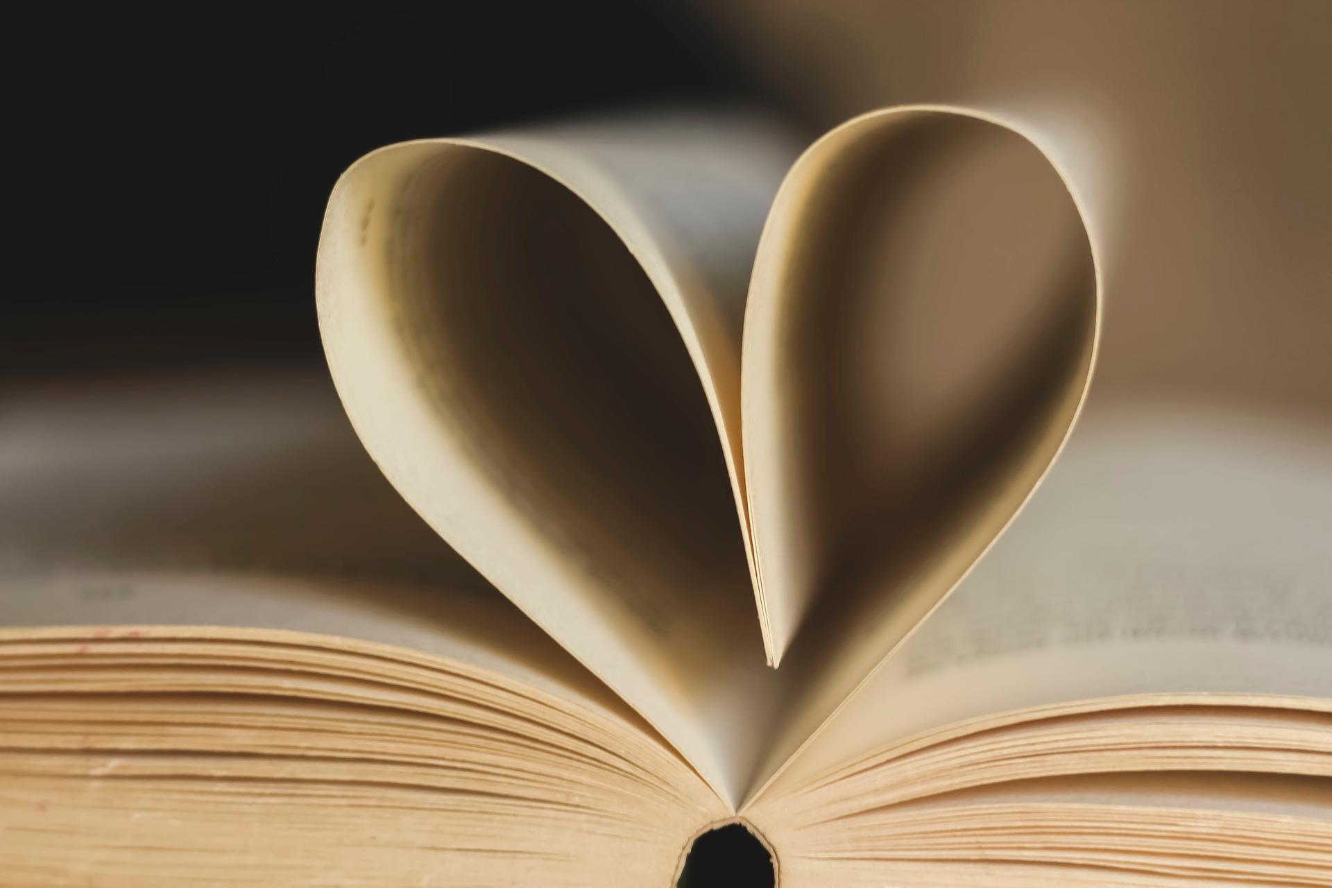 Boek hartje
