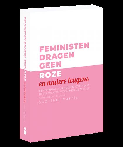 Feministen dragen geen roze