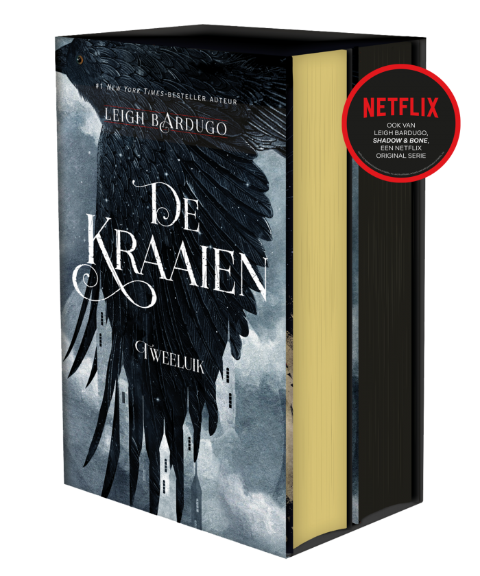 De Kraaien box set hardcover limited edition netflix