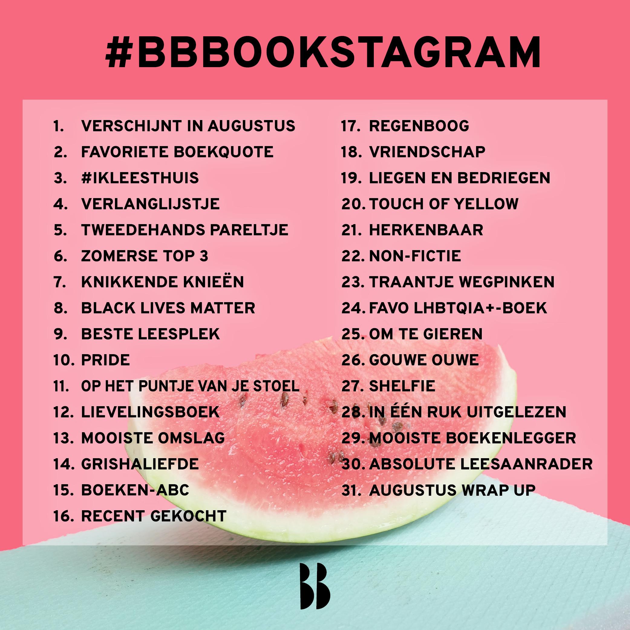 BBBookstagram 2020