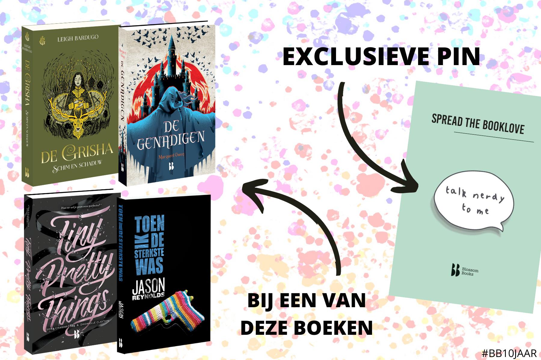 boekenweek voor jongeren 2020 pin