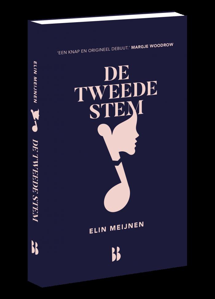 De tweede stem 3D omslag Elin Meijnen
