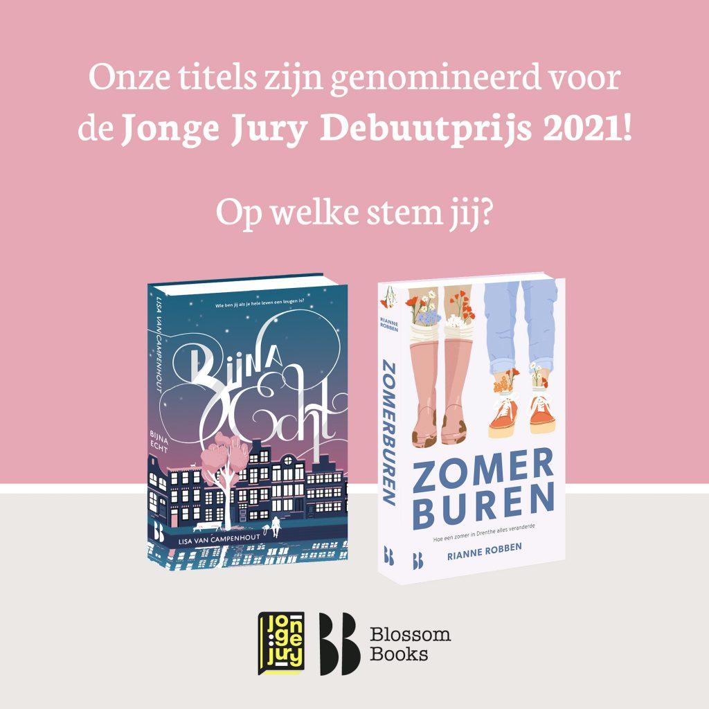 Jonge jury debuutprijs 2021